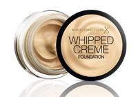 Probamos Whipped Creme Foundation de Max Factor, una base cremosa y semi-mate