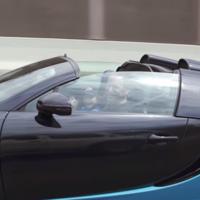 El niño que cumplió su sueño de dar una vuelta en un Bugatti Veyron Grand Sport Vitesse