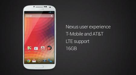 Samsung Galaxy S4 Google Edition, escenificando la unión entre Samsung y Google