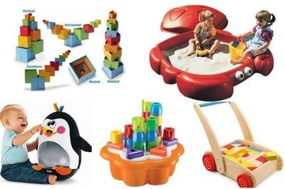 Ideas de regalos de Navidad: para niños de uno a dos años