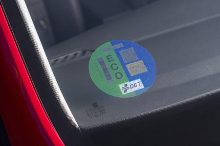 Seat Ibiza TGI etiqueta ECO