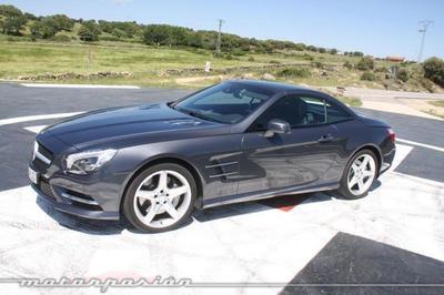 Mercedes SL 500, prueba (equipamiento y seguridad)