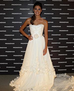 Amaia Salamanca se viste de novia
