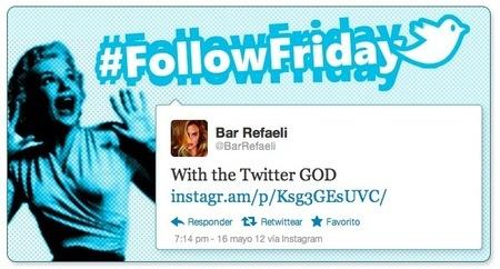 #FollowFriday: Las mejores Twitpics de la semana (X)