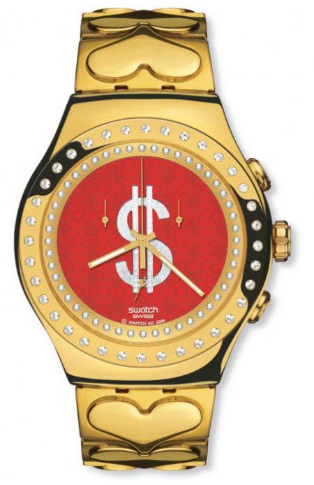 Colección de relojes Swatch de Manish Arora