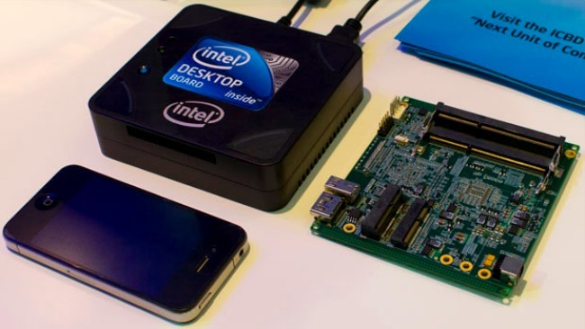 Intel Next Unit of Computing, el microordenador de Intel