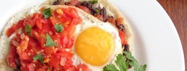 Huevos rancheros. Receta para el desayuno