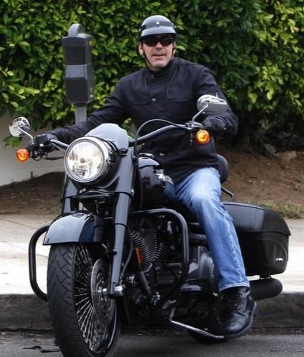 George Clooney, Harley Davidson