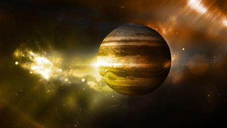 El planeta Jupiter fue objeto de experimentos donde se buscó convertirlo en un segundo sol.