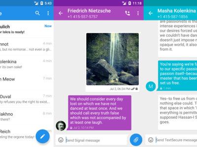 Signal llega a Android: así es la aplicación de mensajería segura apadrinada por Snowden
