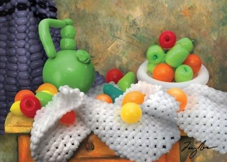 Airigami, sensacionales obras de arte hechas con globos