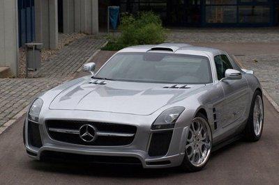 Mercedes SLS AMG por FAB Design, y sin embargo...