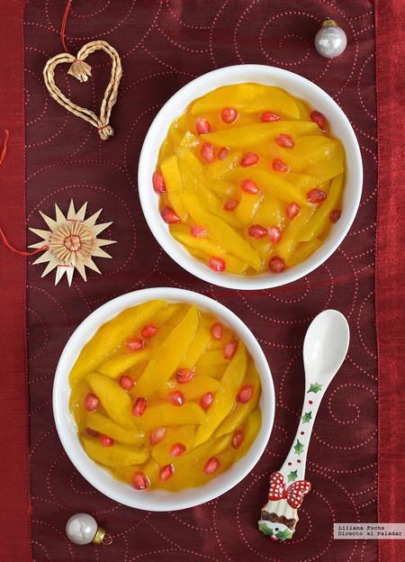 Foto 09 Mango Caramelizado Al Ron Con Especias