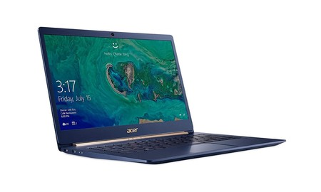 De gama media, delgado, ligero y con una rebaja de 250 euros: el Acer Swift 5 SF514-52T-54QZ, en PcComponentes, ahora por 749 euros