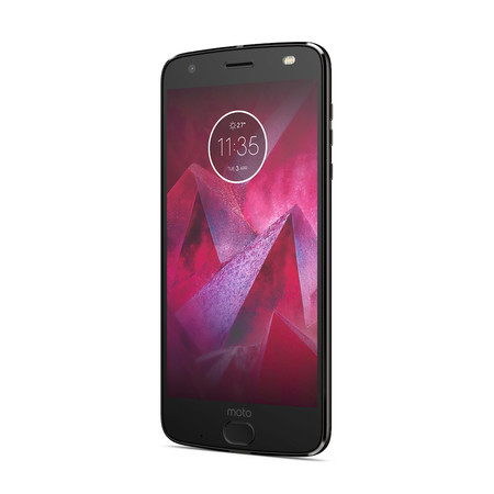 Moto Z2 Force Edition Front Angle Super Black 1