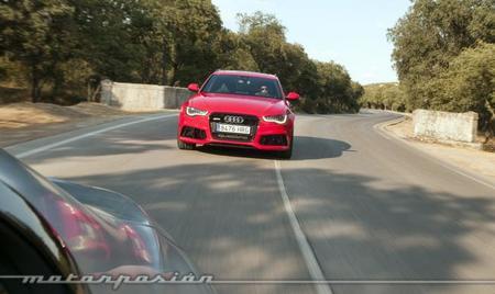 Audi RS 6 Avant desde BMW M6 Gran Coupé