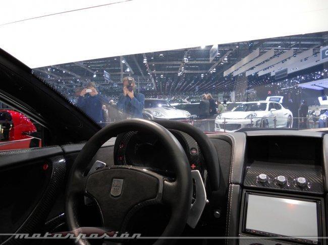 GTA Spano en el Salón de Ginebra