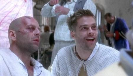 12 Monos 1995 Dvd Bruce Willis Brad Pitt