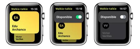 Modo No Disponible En Walkie Talkie Para Apple Watch