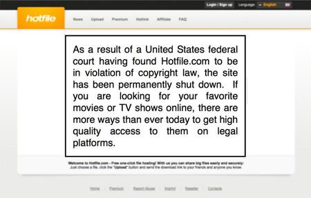 Otro más, Hotfile pagará 80 millones de dólares a la MPAA y posiblemente cerrará su servicio