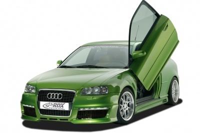 Audi A3 RDX Racedesign: el verde para las aceitunas