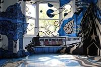 ¿Buena o mala idea? Arte urbano en el dormitorio