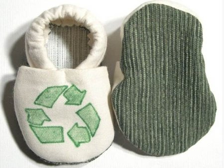 Patucos de algodón orgánico para recién nacidos