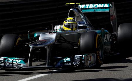 Nico Rosberg se presenta como favorito a la pole position con el mejor tiempo de los terceros libres