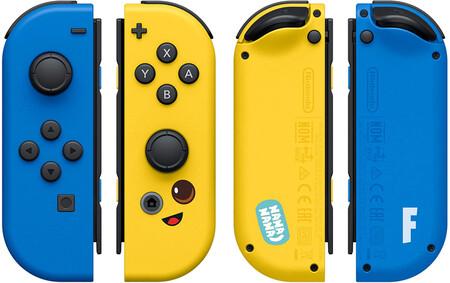 Nuevos controles de Fortnite para Nintendo Switch