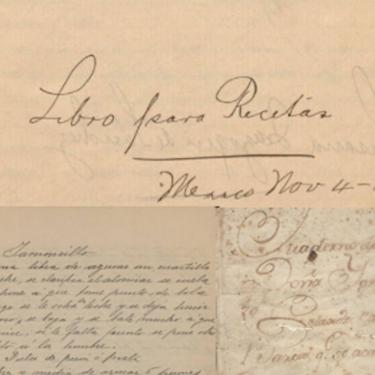 Aquí puedes consultar más de 2000 libros de cocina mexicana y recetarios que datan del siglo XVIII hasta la fecha