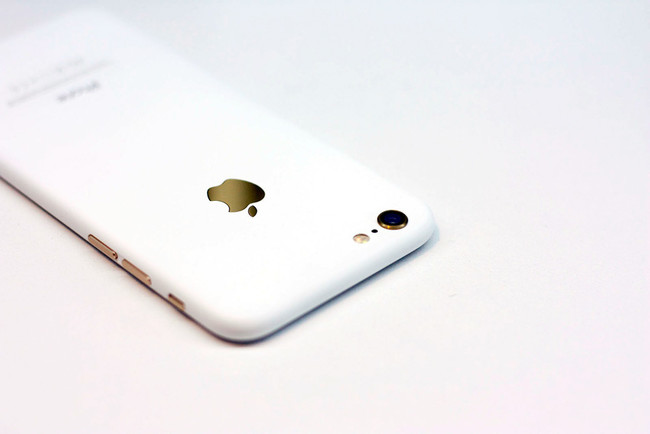 Custom White Iphone