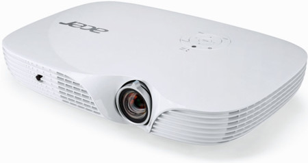 Así es el Acer K650i, un proyector LED que busca sobre todo favorecer la conectividad