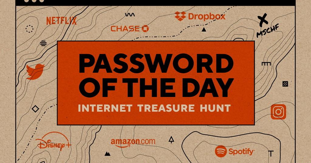 Password Of The Day, la web que regala todos los días credenciales de cuentas premium pero no te dice a qué web pertenecen