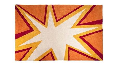 Una explosiva alfombra de estilo Pop Art