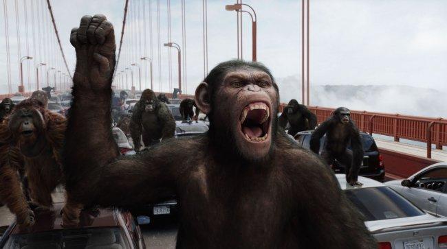 Imagen de la película 'El Origen del Planeta de los Simios'