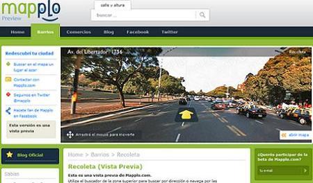 Mapplo, el Street View de Buenos Aires
