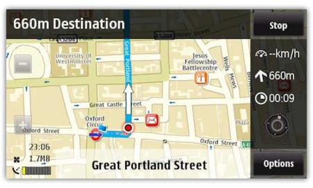 El nuevo Ovi Maps disponible para Nokia N97