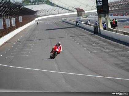 Circuito de Indianápolis: primeros tests