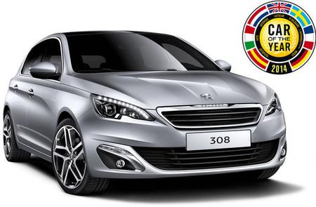 Peugeot 308, Coche del Año en Europa 2014
