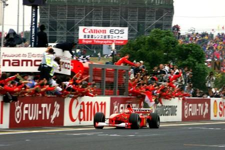 Schumacher Suzuka F1 2000