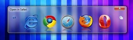 Browser Chooser permite elegir con qué navegador abrir cada enlace