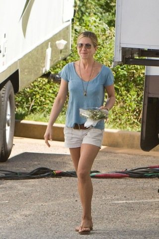 Jennifer Aniston, look de calle sport