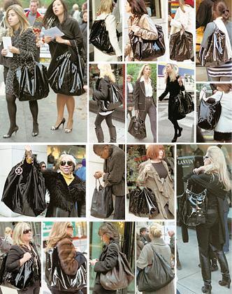 Chanel: shopping bag de vinilo