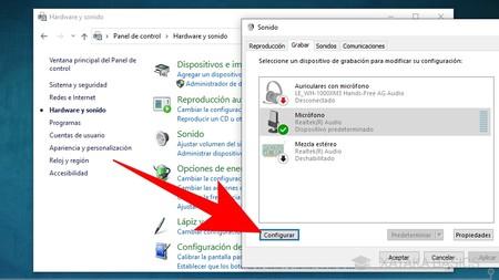 Configurar Micro