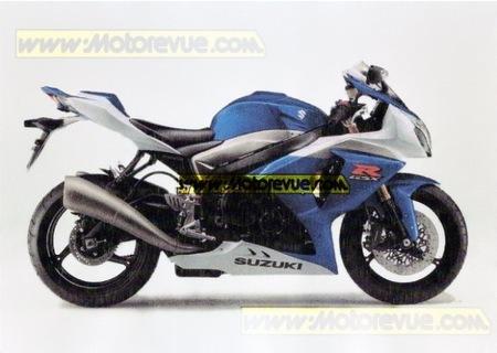 ¿Será así la Suzuki GSX-R 1000 2009?