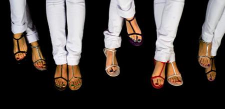 ¿Quieres un calzado a lo Rachel Bilson o Blake Lively? Sandalias Tantra
