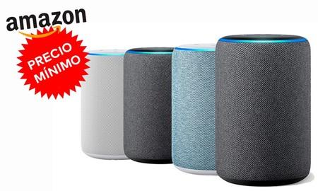 Si quieres hacerte con el Echo de 3ª generación de Amazon, ahora lo tienes a su precio más bajo hasta la fecha: sólo 64,99 euros