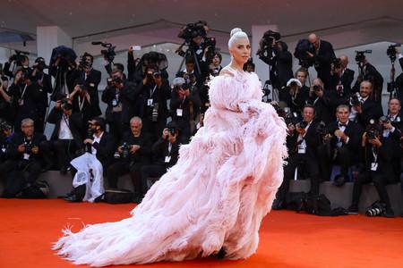Lady Gaga Festival Venecia Valentino Alta Costura