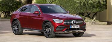 El Mercedes-Benz GLC Coupé 2019 ya tiene precio para España: entre 54.775 euros y 61.775 euros