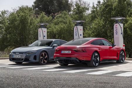 Audi e-tron GT y RS e-tron GT